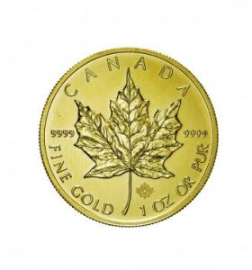 Canada 50 Dollari Maple Leaf 1 Ozt