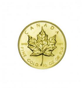 Canada 20 Dollari Maple Leaf  ½ Oncia
