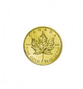 Canada 10 Dollari Maple Leaf ¼ Ozt